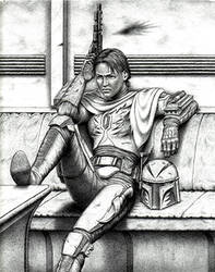 'Weary Warrior' by FalconFan