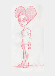 If my niece was a cartoon... by AlilMonki