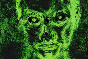 'Scratch' in Green by BAHZUT