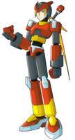 Zero - Megaman Legend 3 by Magna-omega