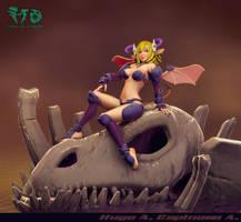 Demon in Skull by Magna-omega