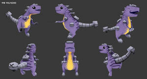 Composometal Lowpoly by Magna-omega