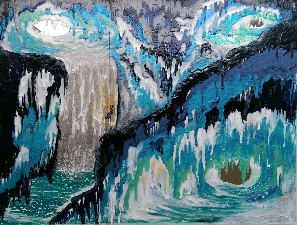 Ice Cave II, 2018 by AnisianArtUK