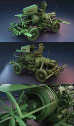 The mad professors ride by Rooboy3D