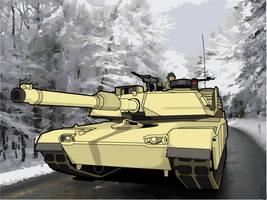 M1 Abrams by CorsairSX