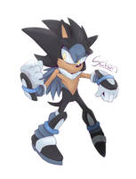 Scion the Hedgehog by Cylent-Nite