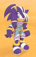 Sonic Origins - Ali-na the Djinn Hunter by Cylent-Nite