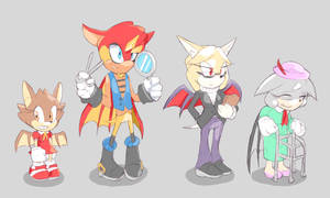 ROUGE the BATS by Cylent-Nite