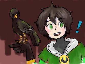 Kid Loki doodle by evilkitten101