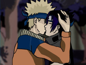 Naruto and Sasuke - DH by Arigatoumina
