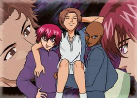 PoT - Jackal, Marui, and Jirou by Arigatoumina