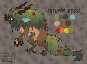 Day 3 OTA: Autumn Beast (CLOSED) by horribull
