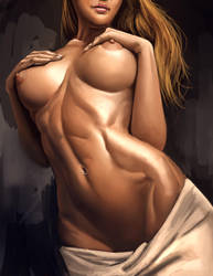 Model Study by Yangyue