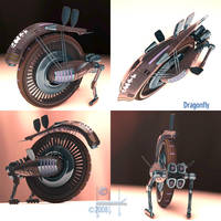 Dragonfly Mono-Wheel by TDBK