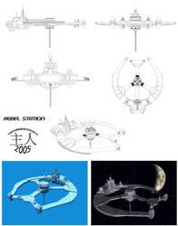 Rebel Space Station by TDBK