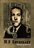 H.P. Lovecraft by muzski