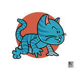 cat by muzski
