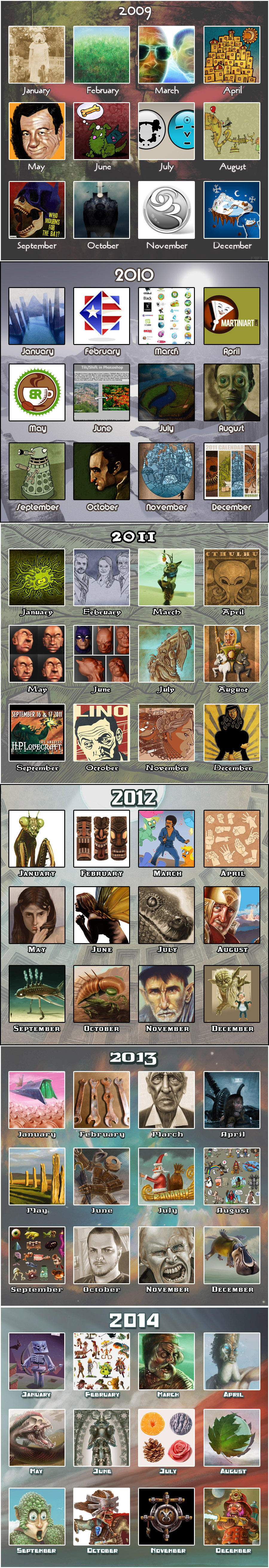 Muzski MEME 2009 - 2014 by muzski