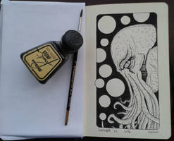 InkTober 22 2016 by muzski
