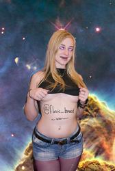 Stacie Jaxxx Galaxy Gawdess by Flavictus