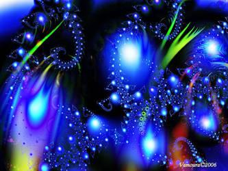 Blue Fairies by Vamoura