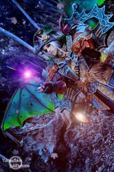 Cosplay Vampire from Forsaken World by Jiakidarkness