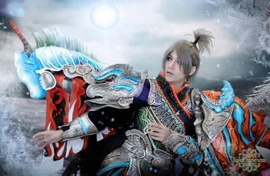 Twelve Sky cold blood sea cosplay by Jiakidarkness