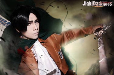 Attack on Titan / killing softly by Jiakidarkness