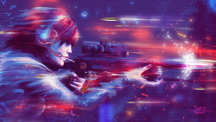 Taste my bullets by AnatoFinnstark