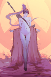 Naked Widowmaker by AnatoFinnstark