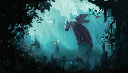First contact (the last guardian) by AnatoFinnstark