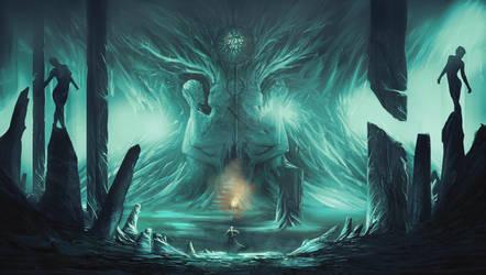 Prayer to Kahli ( darksouls concept) by AnatoFinnstark