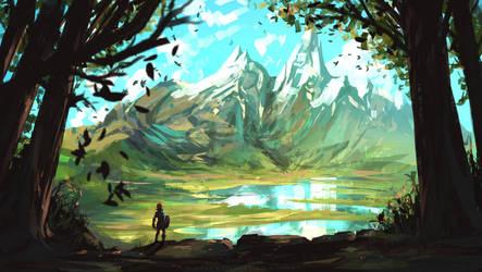 Zelda breath of the wild by AnatoFinnstark