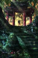 Spirited Away : Another gate (ghibli) by AnatoFinnstark