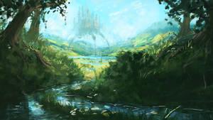 Moving Castle (Practice  2 hours ) by AnatoFinnstark
