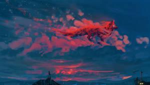 The Twilight Fox by AnatoFinnstark
