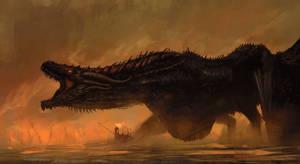 Are you a sheep? No. You're a dragon. Be a dragon. by AnatoFinnstark