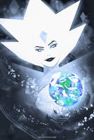 Hello There ! (White Diamond / steven universe ) by AnatoFinnstark