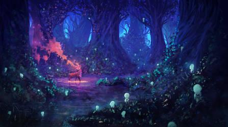The solstice ( Princess Mononoke ) by AnatoFinnstark