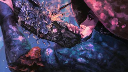 Lady Eboshi ( Mononoke ) by AnatoFinnstark