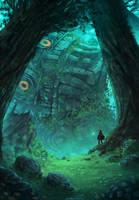ZELDA - The fallen Colossus by AnatoFinnstark