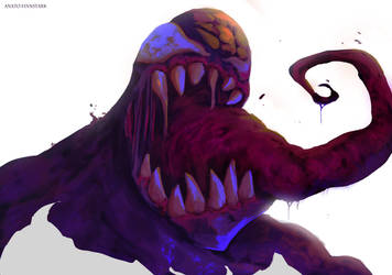 Venom ( agrougroum ! agrougrouuum !! ) by AnatoFinnstark