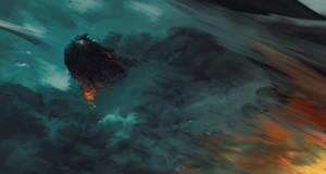 The king dragon by AnatoFinnstark