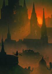 Yharnam ( Bloodborne ) by AnatoFinnstark