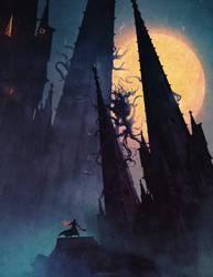 Moon Presence ( Bloodborne ) by AnatoFinnstark