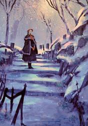 Are you cold ? Oh, Good Hunter. ( Bloodborne ) by AnatoFinnstark