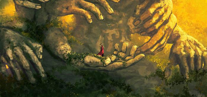 The king's journey : The elder's forest ( part 1 ) by AnatoFinnstark