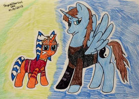Master and Apprentice by artistNJC