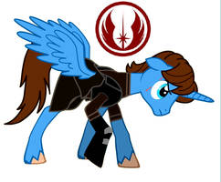 MLP Anakin Skywalker Alicorn by artistNJC