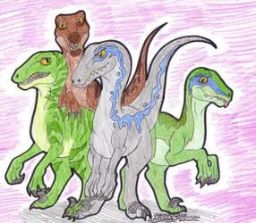 Raptor Squad by artistNJC